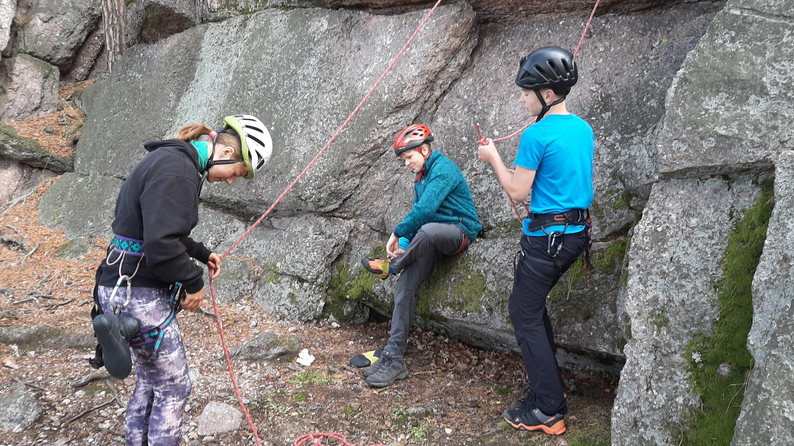 Lezecké soustředění a příprava na soutěž MLADÍ HORALOVÉ